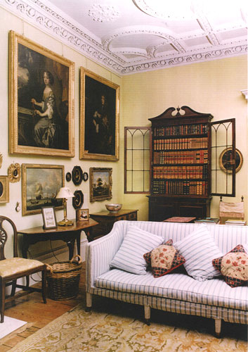 Bookcase in a Country House
